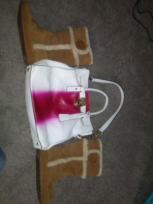 Michael Kors snow boots and Hamilton tote for Sale in Orlando, FL
