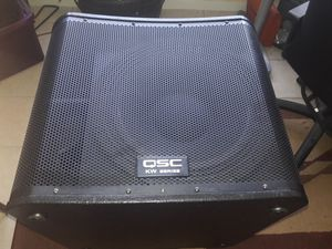 qsc kw181 powered subwoofer (1000 watts) for Sale in Houston, TX