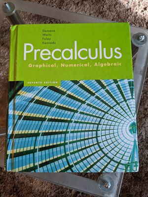 Precalculus textbook for Sale in Klamath Falls, OR