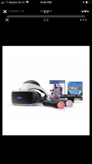 PlayStation VR Bundle with Aim controller and 2 Games!!! for Sale in Germantown, MD