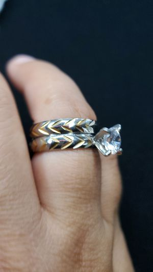 Stainless steel ring $25 size 8 for Sale in Gardena, CA