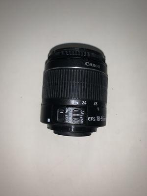 Canon EFS 18-55 lens for Sale in Miramar, FL