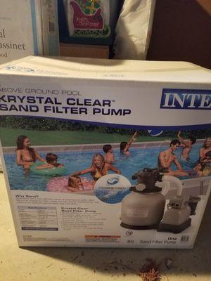 Pool water pump for Sale in Wrightstown, NJ