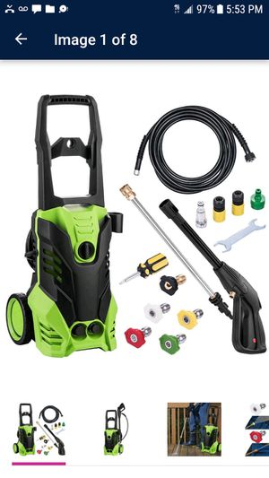 Brand new in box pressure washer 1800 for Sale in Monroe Township, NJ
