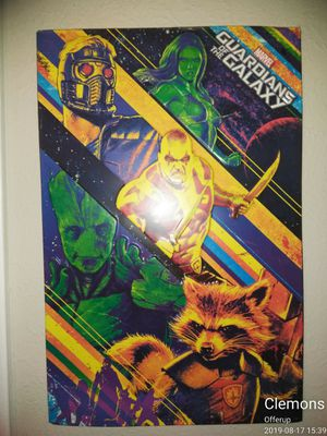 Guardians of the Galaxy metal sign Art 15 1/2 ×24 for Sale in Nashville, TN