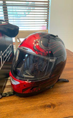 iicon motorcycle helmet for Sale in San Angelo, TX