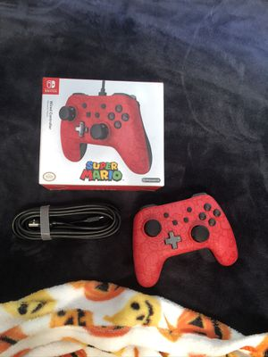 Super Mario Nintendo switch controller for Sale in Fresno, CA