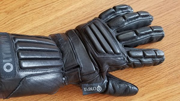Leather gloves (motorcycle) - Winter