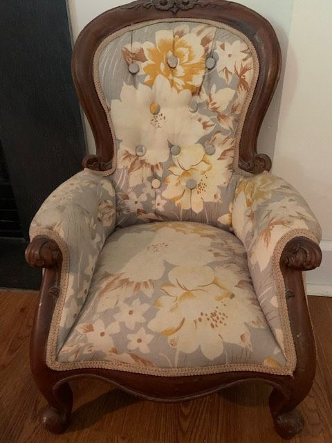 Antique baby chair