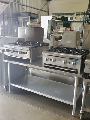 Counter top burners & more restaurant equipment for sale for Sale in Los Angeles, CA
