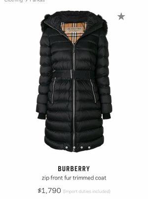 Burberry Winter Coat for Sale in Las Vegas, NV