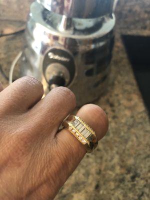 Authentic men's Diamond ring for Sale in Miami Beach, FL