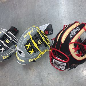 Wilson and Rawlings 11.5inch Sold Separately for Sale in Riverside, CA