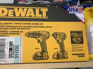 NEW Dewalt Kit Drill & Impact driver New in the box for Sale in Pinecrest, FL