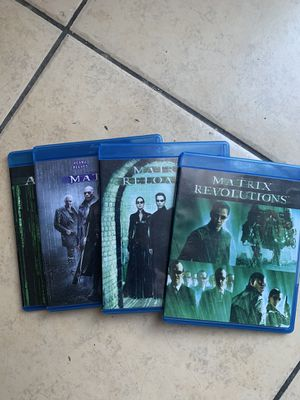 Matrix trilogy Blu-ray for Sale in Anaheim, CA