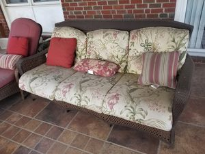 Outside couch and lounge chair for Sale in Baltimore, MD