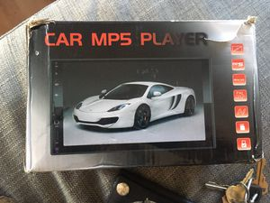 Touch Screen Mp5 Stereo System for Sale in Gardena, CA