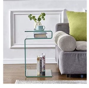 GLASS Nightstand/Side Table for Sale in Chicago, IL