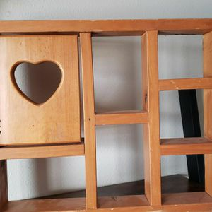 Cute Wooden Shelf for Sale in Peoria Heights, IL