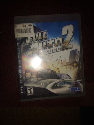 Ps3 full auto battlelines 2 for Sale in Evansville, IN