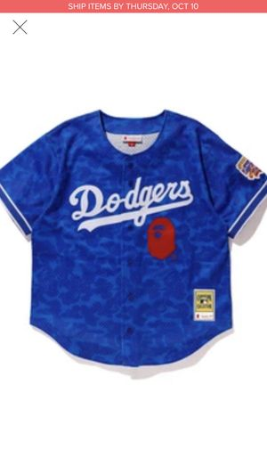BAPE x Mitchell & Ness Dodgers for Sale in Glendale, AZ