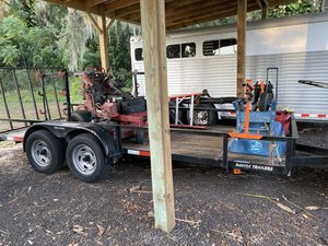 7x16 tandem axel trailer for Sale in Winter Garden, FL
