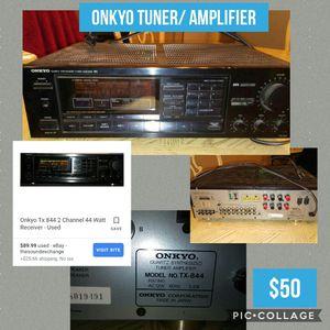 Onkyo tuner/ amplifier for Sale in Garland, TX