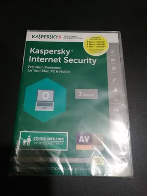 Kapersky Internet Security for Sale in Chicago, IL