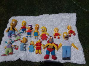 13 Simpson dolls Variety of people for Sale in Salt Lake City, UT