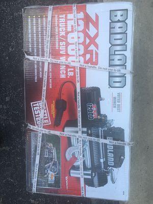 Badland ZXR Truck/ Suv Winch for Sale in San Antonio, TX