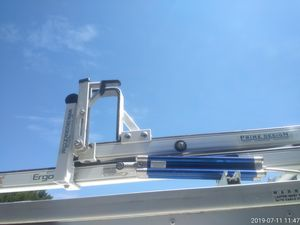 Ladder rack system with tools box for Sale in San Antonio, TX