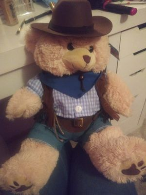 Recordable cowboy teddy bear for Sale in Phoenix, AZ
