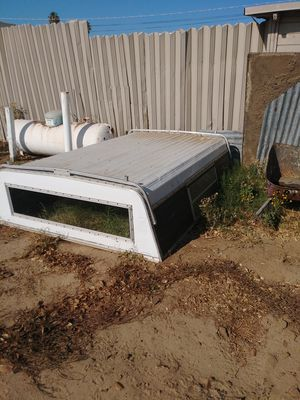 Aluminum camper shell for 8 foot bed for Sale in Oakley, CA