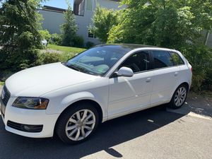 2009 Audi A3 - White exterior, black interior, BOSE, remote start for Sale in Seattle, WA