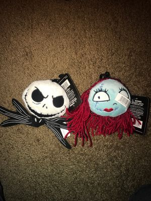 Nightmare before Christmas plush keychain for Sale in Oakland, CA