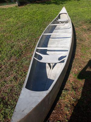 Aluminum canoe 17' ouachita marine & IND. CORP. for Sale in San Marcos, TX
