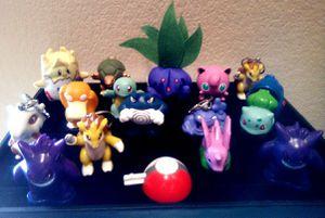 1999 Burger King Pokemon mixed ( key chain)( plush figures)(figures) for Sale in Las Vegas, NV