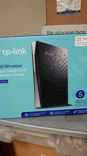A.c. 1200 wireless cable modem router for Sale in Buda, TX