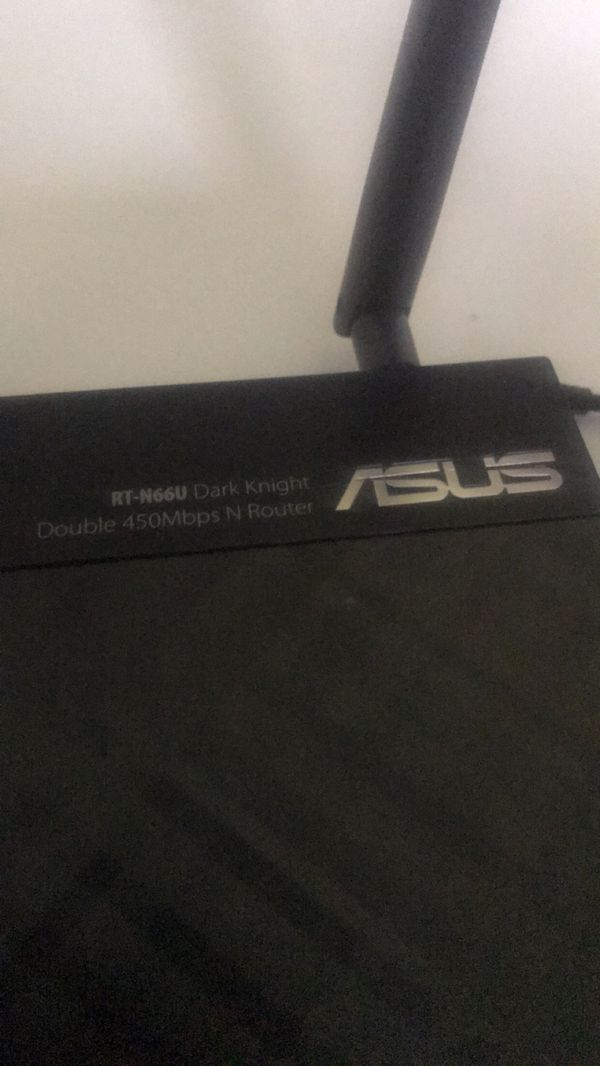 Asus router night hawk