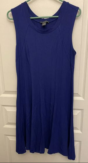 Ladies Chelsea & Theodore Sleeveless Blue Dress Large for Sale in North Bethesda, MD