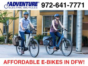 Affordable E-Bikes in DFW for Sale in Arlington, TX