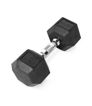 CAP Rubber Hex Dumbbells. Weights. Fitness. Pair: 25LB for Sale in Queens, NY