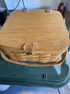 Longaberger picnic basket for Sale in Wellington, FL
