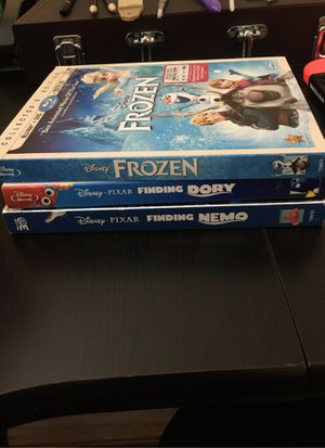Disney Blu Ray Movies for Sale in Norco, CA