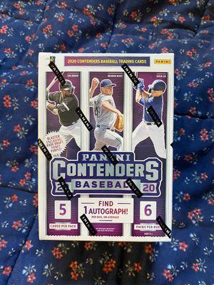 2020 Panini Contenders Baseball blaster boxes for Sale in Phoenix, AZ
