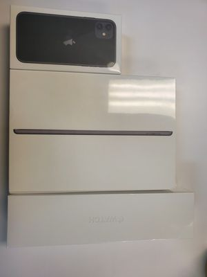 iPhone 11, Series 5 Apple Watch, and iPad 7th gen for 165/month! for Sale in Hillside, IL