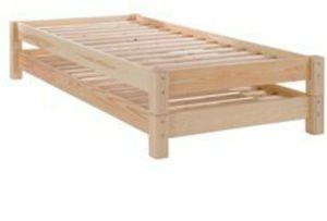 FREE - Set of 2 - Ikea Stackable twin bedframes for Sale in Alexandria, VA