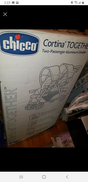 Chicco double stroller for Sale in Salisbury, NC
