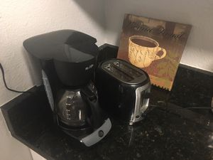 Coffee maker, toaster and art work, can be sold separately for Sale in Tampa, FL