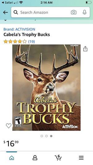 Cabela's Trophy Bucks PS2 Game for Sale in Gonzales, LA